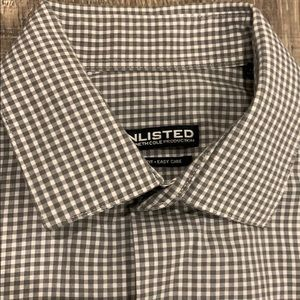 Unlisted by Kenneth Cole men's dress shirt